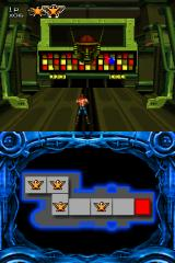 Contra 4 Nintendo DS Level end boss in the Base stage. Kinda lame if you ask me. At least on the original he had multiple phases and some kind of protection turrets.