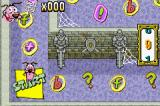 Cartoon Network Block Party Game Boy Advance A screenshot from the spooky-castle-type board