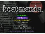 "beatmania PlayStation Title screen for the append disc ""Yebisu Mix"" that comes with the game as a bonus disc."