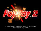 Poy Poy 2 PlayStation Title screen