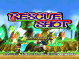 Rescue Shot PlayStation Title screen