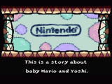Super Mario World 2: Yoshi's Island SNES The story begins