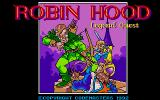 Robin Hood: Legend Quest Atari ST The title screen