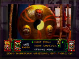 Supreme Warrior 3DO Main menu - select your path.