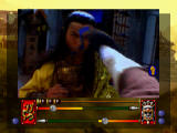 Supreme Warrior 3DO Kicking the enemy in the face!! Ouch! That hurts!!!