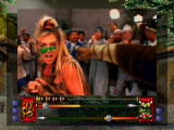 Supreme Warrior 3DO Throwing a right hook.