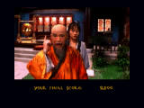 Supreme Warrior 3DO The master is very upset! Game over.