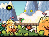 Super Mario World 2: Yoshi's Island SNES Starting the game