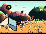 Super Mario World 2: Yoshi's Island SNES This greedy plant can only be defeated by throwing eggs at it