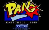 Pang Atari ST The title screen