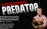 Predator Atari ST The title screen