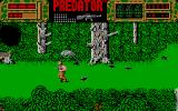 Predator Atari ST Running from attacking birds