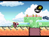 Super Mario World 2: Yoshi's Island SNES Watch out for those black thingies: they'll grow big and make pits in the ground