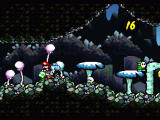 Super Mario World 2: Yoshi's Island SNES Beautiful cave level