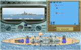 Great Naval Battles: North Atlantic 1939-43 DOS Main gunnery control station