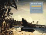Great Naval Battles Vol. II: Guadalcanal 1942-43 DOS Main game screen