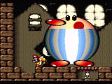 Super Mario World 2: Yoshi's Island SNES Boss battle