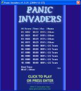 Panic Invaders Windows Highscore