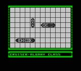 Battleship NES Placing the ships on the board.