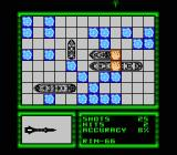 Battleship NES The CPU hits. My setup made the CPU believe that the ship was facing the other way...