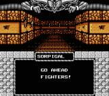 Might and Magic: Book One - Secret of the Inner Sanctum NES Walking through the town.