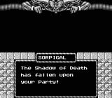 Might and Magic: Book One - Secret of the Inner Sanctum NES I was killed by a sprite. I hope nobody learns of this.