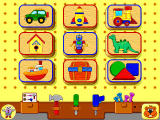 Fisher-Price Learning in Toyland Windows All-in-1 Workshop-- select a project