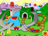 Fisher-Price Learning in Toyland Windows Fliptrack Mountain