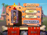 The Flintstones: Bedrock Bowling Windows Player select