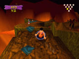 The Flintstones: Bedrock Bowling Windows The Lava lane