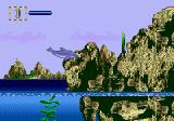 Ecco Jr. Genesis I can't jump over this formation.