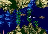 Ecco Jr. Genesis Crabs can blocked your path (just a bit).