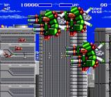 Air Buster Genesis Large enemies in the first phase