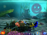 Disney•Pixar Finding Nemo: Nemo's Underwater World of Fun Windows Choosing an activity from the hub-like area.