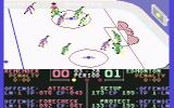 Superstar Ice Hockey Commodore 64 I checked the guy at the top of the rink.