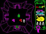Atic Atac ZX Spectrum In the caverns