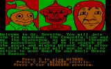 The Wizard of Oz DOS Introduction 1