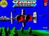 Xevious ZX Spectrum Loading screen