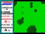 Xevious ZX Spectrum Firing at flying enemies.