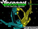 Cybernoid: The Fighting Machine ZX Spectrum Loading screen