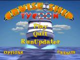 Cruise Ship Tycoon Windows Main menu