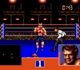 George Foreman's KO Boxing Genesis George goes down and sees stars.