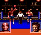 George Foreman's KO Boxing Genesis George wins the fight.