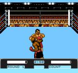 George Foreman's KO Boxing NES George throw a punch.