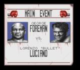 George Foreman's KO Boxing SNES Match-up screen