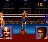George Foreman's KO Boxing SNES Start of the first match