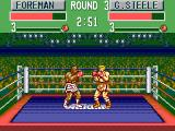 George Foreman's KO Boxing SEGA Master System It is an even match so far.