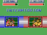 George Foreman's KO Boxing SEGA Master System Intermission, time to restore some health.