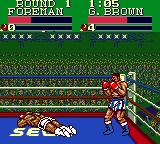 George Foreman's KO Boxing Game Gear Third opponent