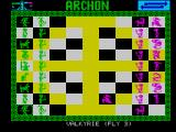 Archon: The Light and the Dark ZX Spectrum And so the eternal battle begins.